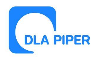 DLA Piper logo blue